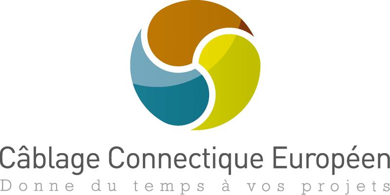 Logo Câblage Connectique Européen